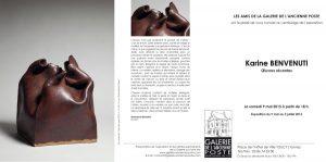 Texte réalisé pour Karine Benvenuti, céramiste