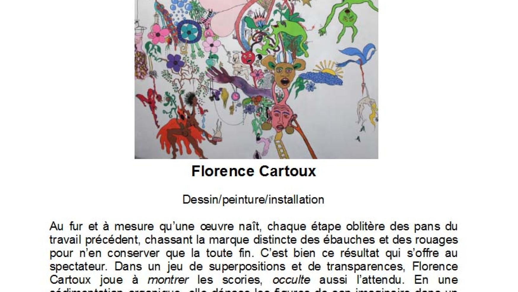 Florence Cartoux, plasticienne